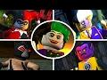 LEGO Batman 2 DC Super Heroes - All 22 Villain Boss Fights (UNLOCKING ALL VILLAINS)