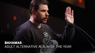 Bahamas wins Adult Alternative Album of the Year | Live at the 2019 JUNO Gala Dinner & Awards thumbnail