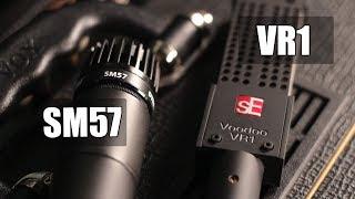 Shure SM57 vs SE VR1 Voodoo (electric guitar) (pt.1)