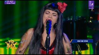 "Imitadora de Mon Laferte cantó ""Tu falta de querer"" para consagrarse en la Gran Final   Yo Soy"