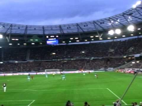Hannover 96 - Standard Lüttich Wechselgesang Nord/Süd