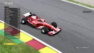 FRL - F1 2017 - CLASSIC CARS RACE - BELGIAN GRAND PRIX LIVE