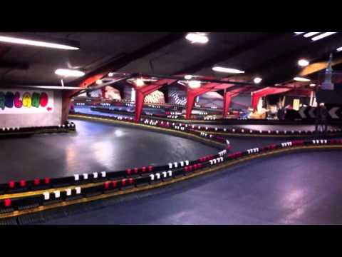 Gokart Action House Lokken Danmark Youtube