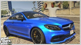 REAL LIFE MOD #12 - MY NEW TEMPORARY CAR $80,000 MERCEDES C63 AMG S (GTA 5 SUPERCAR!)