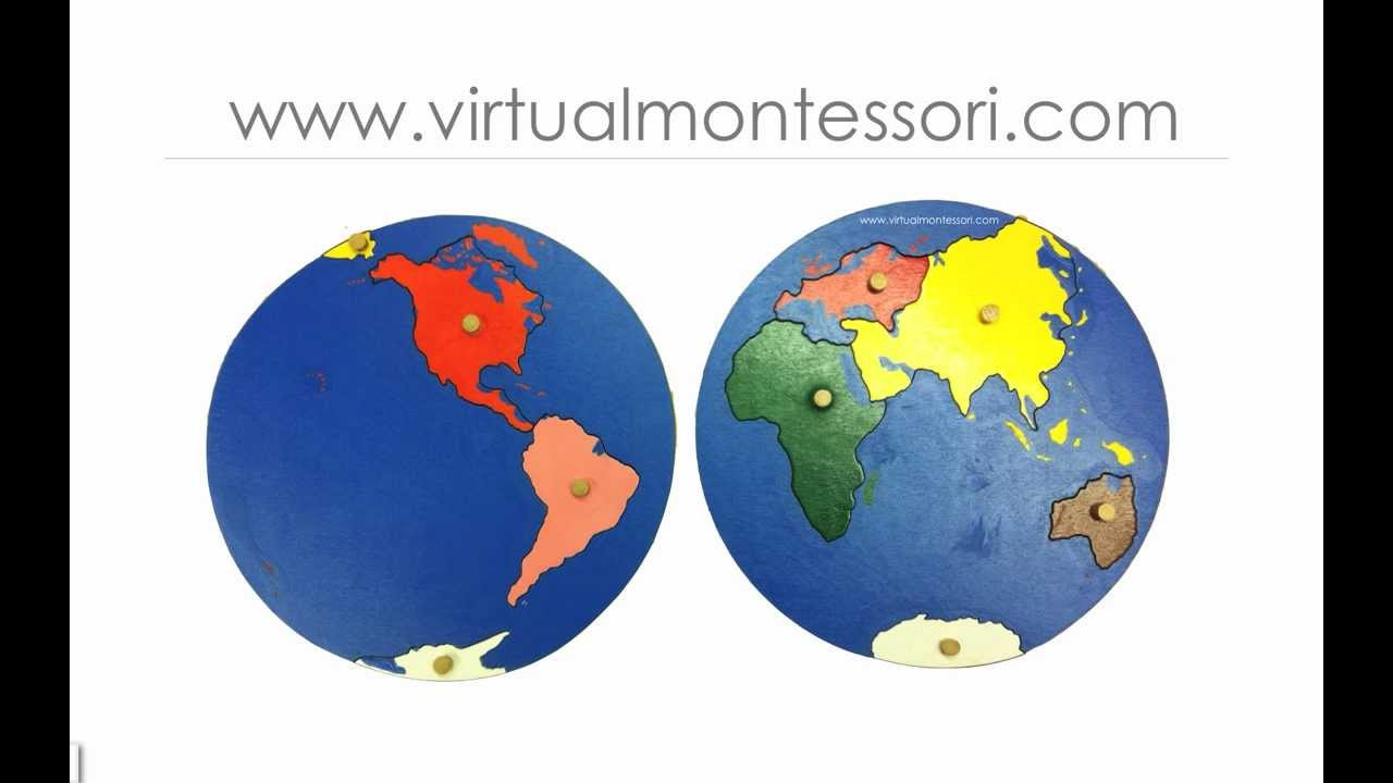 Montessori Inspired  Tell me the Continents Song  YouTube