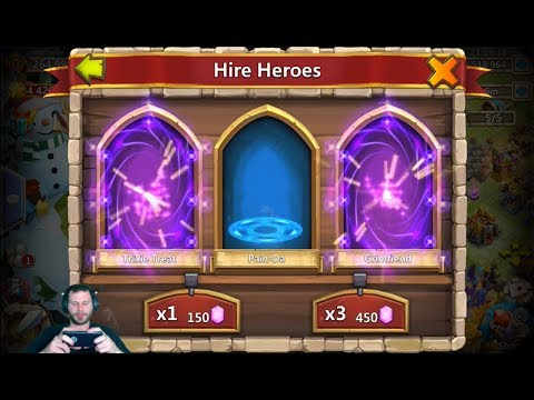 JT's Main Rolling 70,000 Gems For AnubiS ONE TIME Castle Clash