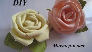 Как сделать Розы из фома МК.DIY FOAM FLOWERS(КУПИТЬ ФОМ НА САЙТЕ