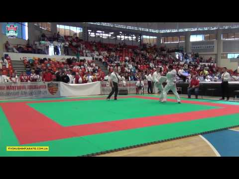 Tatami A (U18 Boys) Part 3 - The 5th IFK Kyokushin World Championship
