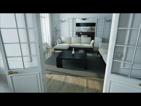 Amazing playable tech demo. AMAZING GRAPHICS! (Unreal Engine 4 Paris Apartment)