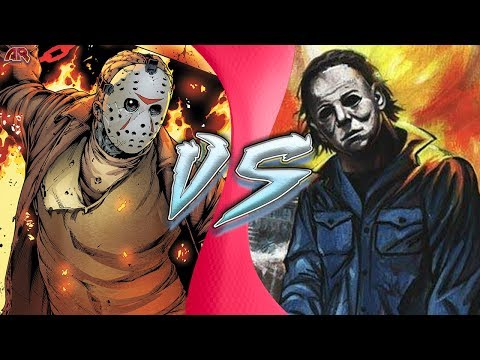 JASON VOORHEES vs MICHAEL MYERS! (Jason vs Micheal Animation) | CARTOON FIGHT CLUB!