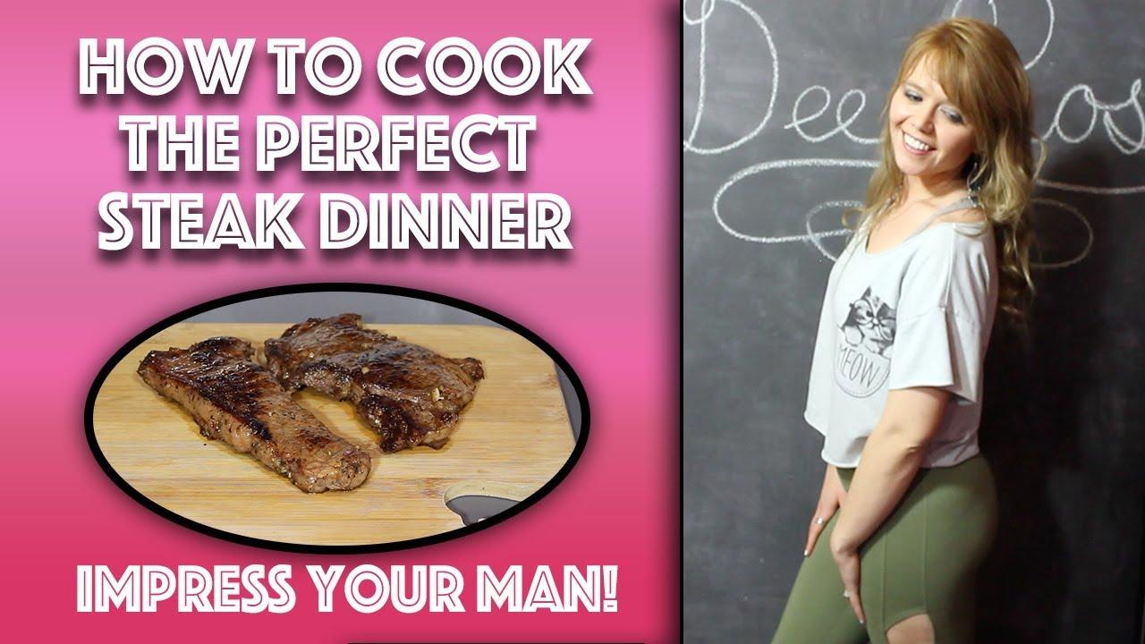 Dinner to impress a man
