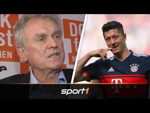 FC Bayern: Legende Sepp Maier ätzt gegen Robert Lewandowski | SPORT1