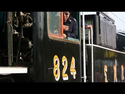 steam train - train vapeur - Bangkok/Ayutthaya www.theo-courant.com