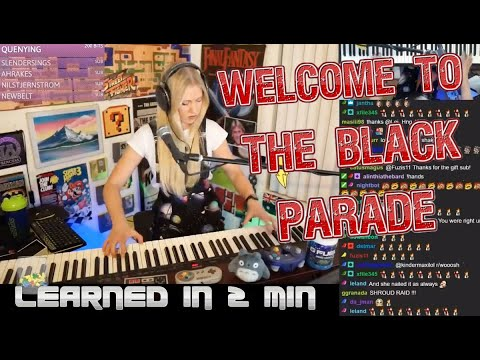 'Welcome to the Black Parade' learned in 2 minutes