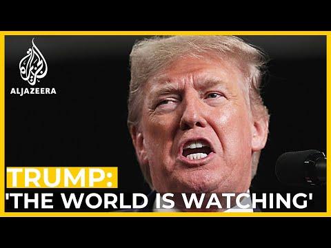 Donald Trump warns
