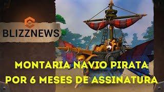 Nova Montaria Navio Fantasma por 6 Meses de Assinatura - World of Warcraft