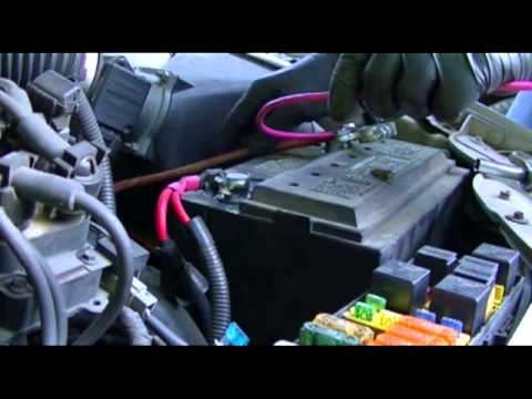 2005 ford taurus fuel pump wiring diagram single pole pulling unit battery terminal repair - youtube