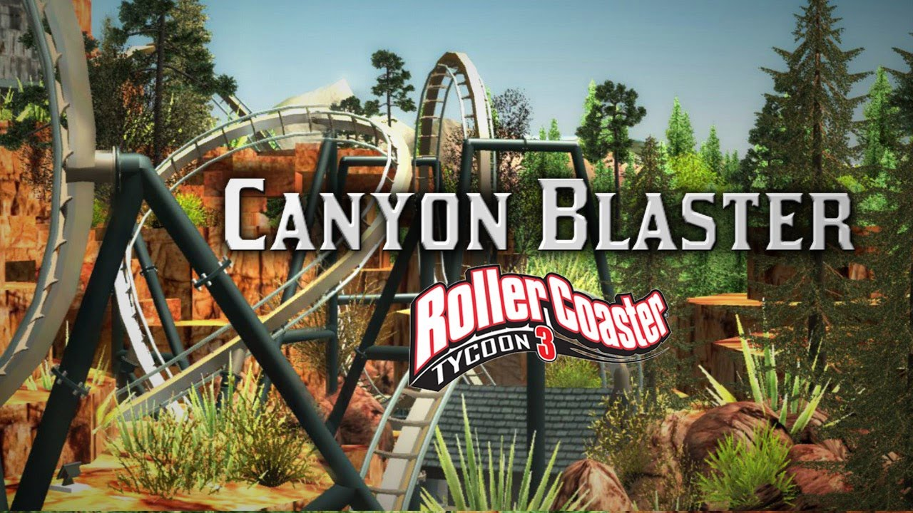 Rct3 Canyon Blaster B Amp M Floorless Coaster Youtube
