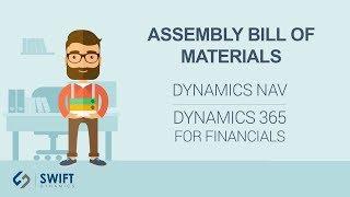 Assembly Bill of Materials in Dynamics NAV