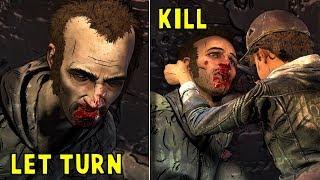 Mercy Kill Abel vs Let Him Turn into Walker - The Walking Dead The Final Season Episode 3