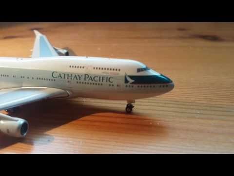 Phoenix-Models 1:400 Cathay Pacific 747-400 review