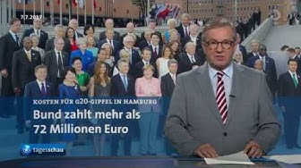 2018-02-04 G20 Krawalle Hamburg - Kosten für Bund belaufen sich auf 72 Millionen Euro