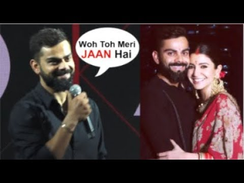 Virat Kohli's SWEET Reaction On WIFE Anushka Sharma In Front Of Media