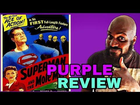 JUSTICE LEAGUE MOVIE MARATHON! SUPERMAN AND THE MOLE MEN MOVIE REVIEW!