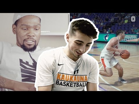 """Jordan McCabe Reacts To KEVIN DURANT Breaking Him Down! """"This Is The Coolest Thing I've Ever Seen"""""""