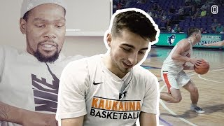 Jordan McCabe Reacts To KEVIN DURANT Breaking Him Down!
