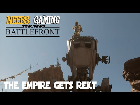 Star Wars Battlefront Co-Op Mode:  The Empire Gets Rekt