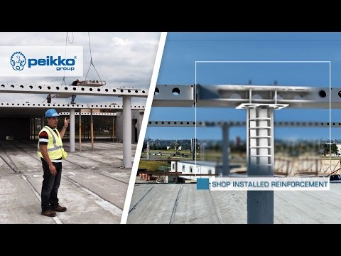 Peikko's Frame Solution – Prefabricated Fire Resistant Structure built in North America