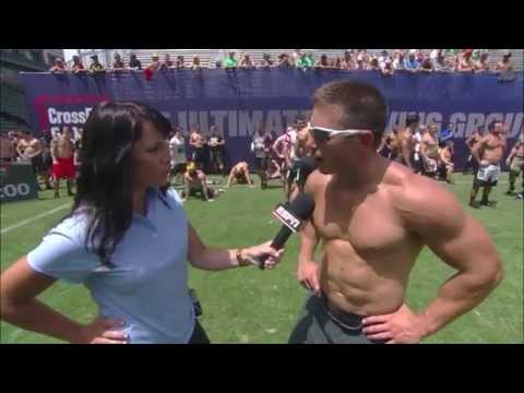 Zig Zag Sprint: Men - 2013 CrossFit Games