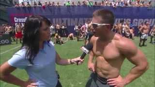 Zig Zag Sprint: Men - 2013 CrossFit Games