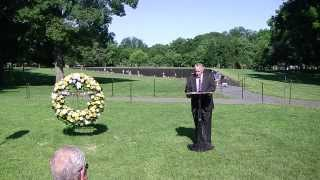 Vietnam Wall Ceremony, 2014, USMA 1969, Part 1 of 2