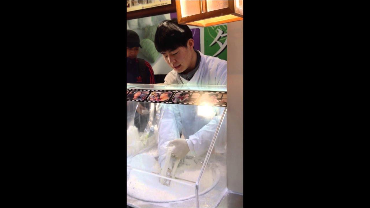 Korean Honey String Candy Insadong South Korea Youtube