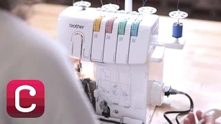 How to Thread a Serger with Jaime Jennings and Amber Corcoran | Creativebug