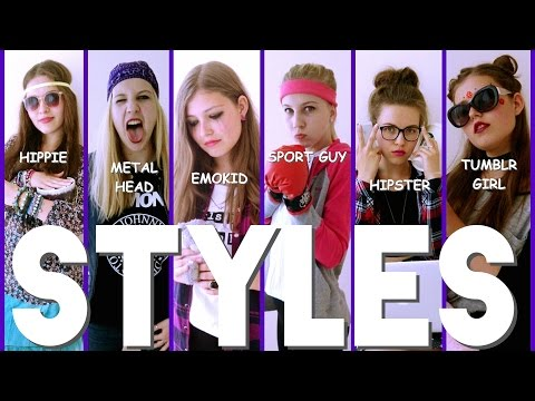 STYLES | FROM HIPPIE TO TUMBLR GIRL
