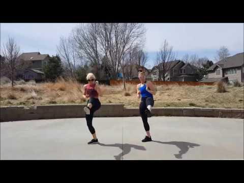 DJ Got Us Fallin' In Love - YESKaren! (cardio kickboxing choreography by Karen Carlson)