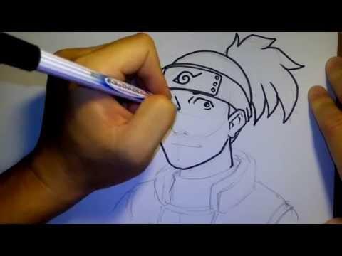 สอนวาดรูป การ์ตูน ครูอิรุกะ นารุโตะ