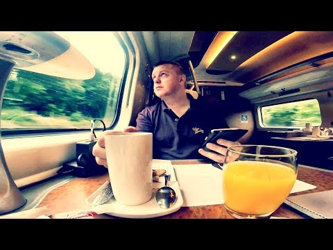 VIRGIN TRAINS FIRST CLASS - London Euston To Liverpool Lime Street