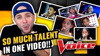 Philippines Kids Nailing English Songs on The Voice PH Kids | MUSIC PRODUCER REACTION