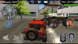 Police Car Offroad Crime Chase Driving Simulator / Android Gameplay FHD