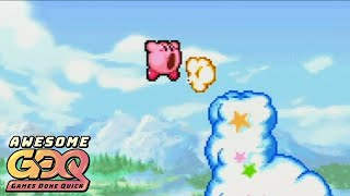 Kirby & the Amazing Mirror by swordsmankirby in 28:41 - AGDQ2019