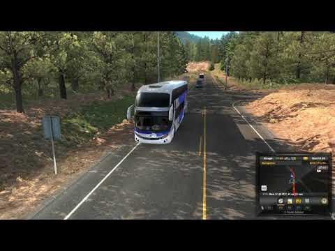 American Truck Simulator 1.35 Bus Mod