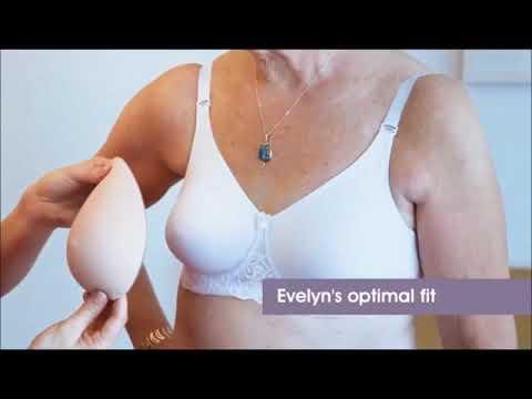 Trulife 473 Silk Teardrop Breast Form