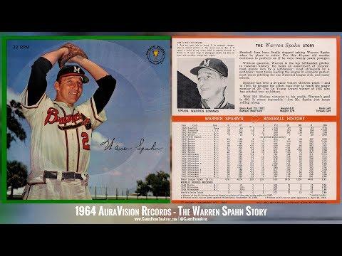 Warren Spahn Interview Milwaukee Braves 1964 AuraVision Records