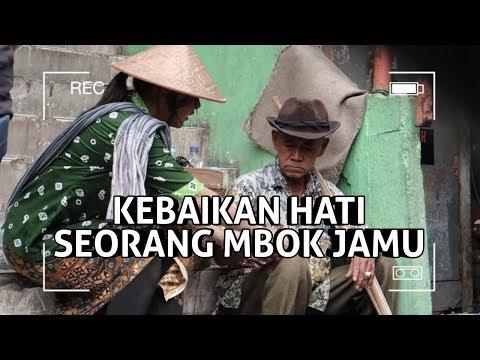 JADI MBOK JAMU, AUREL DAPAT KEBAIKAN HATI PEDAGANG PASAR..