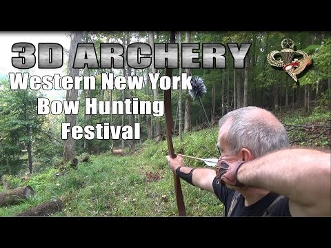 3D Archery - Western New York Bow Hunting Festival