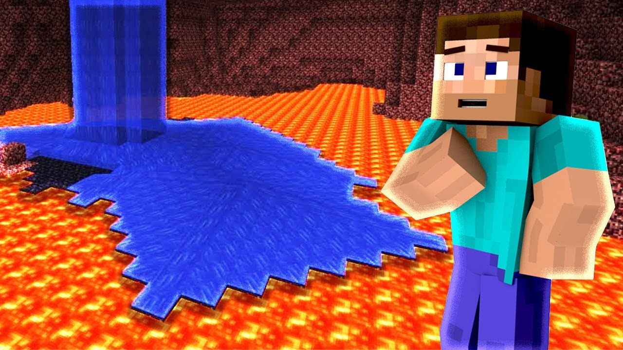 Minecraft: You can place Water in the Nether!?